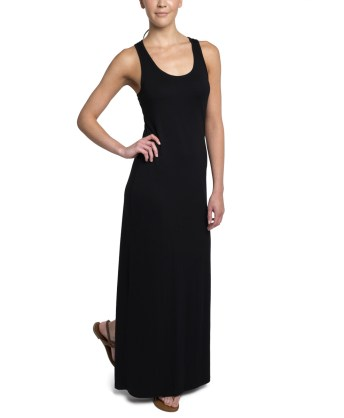 PACT Black Maxi Dress