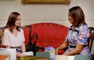 Gilmore Girls: Rory visita Michelle Obama