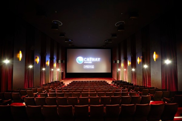 The Digital Xtreme hall, equipped with the latest Dolby Atmos technology, is Cathay's largest movie screen in the heartlands of Singapore