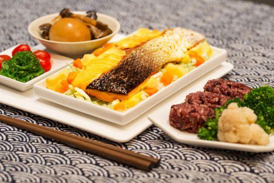 Salmon Shoyu Bento Box