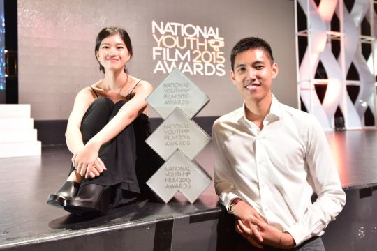 Angelica Ho and Shane Lim bags three awards, Best Screenplay, Best Direction and Best Picture for their film, November