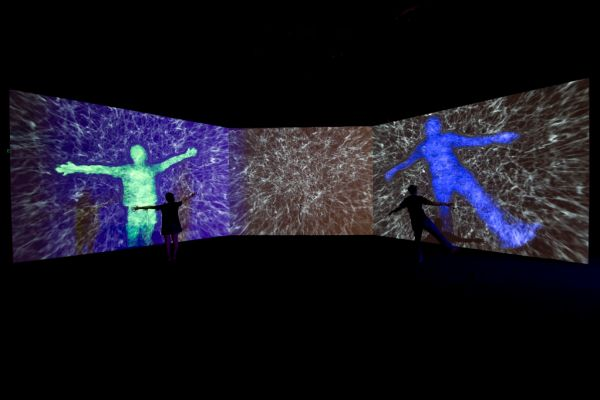 Collider exhibition, Gift of Mass art installation inspired by discovery of Higgs boson