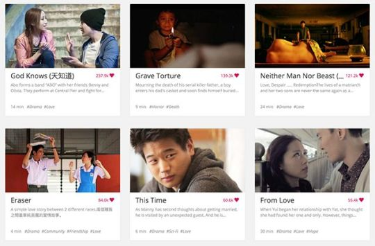 A variety of short films with refreshing storylines at Viddsee