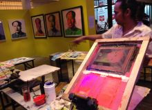 Andy Warhol Ryan Foundation Silk Screen