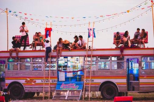Molam Bus at Wonderfruit