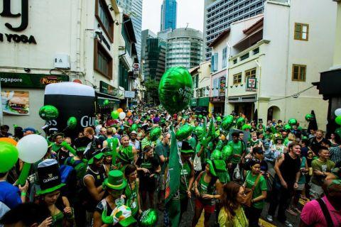 Credit: St Patrick's Day Street Festival 2017