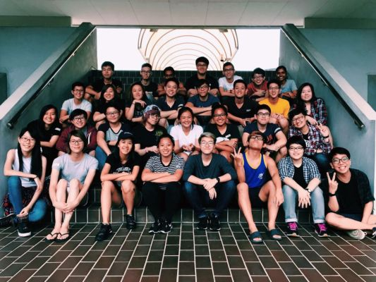 Participants and facilitators at Qrientation@NTU 2016. Despite the various challenges the group faces, it continues to organise events to provide a safe and inclusive platform for LGBTQ+ students from NTU.