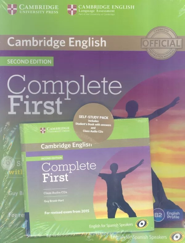Libro Pet Cambridge Pdf Complete First Fce 2nd Ed Self Study Pack With