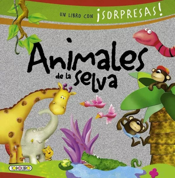 Libro De Animales Los Animales De La Selva Pop Up