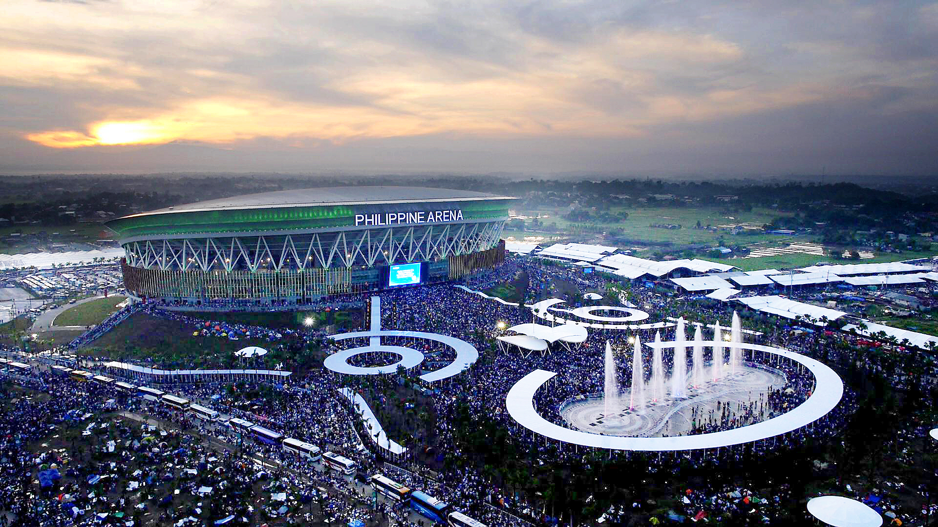 China Wallpaper Full Hd Philippine Arena Populous