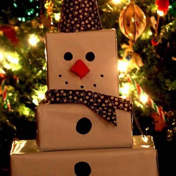 ideas para empaquetar los regalos de navidad