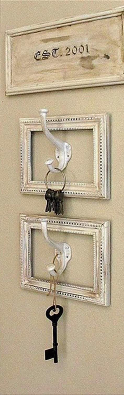 Colgador de llaves diy ¡Muchas ideas!