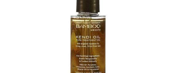 Bamboo Smooth Kendi Oil: dobry olejek do włosów puszących się
