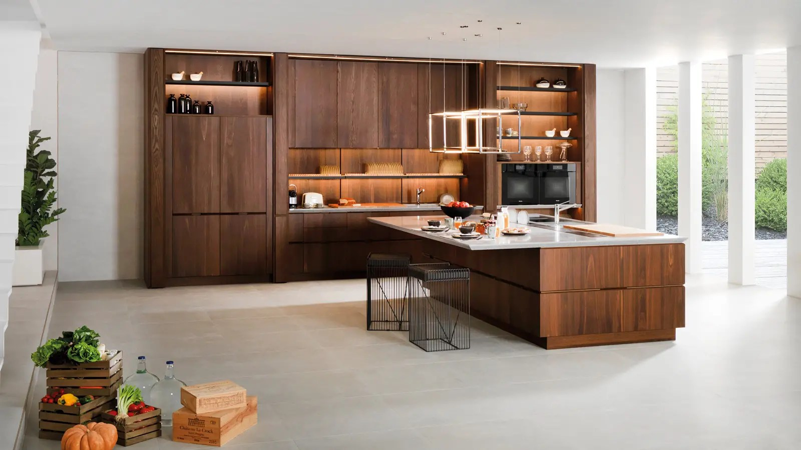 Porcelanosa Kitchen Cabinets The Latest Innovations At The 26th Porcelanosa Grupo International