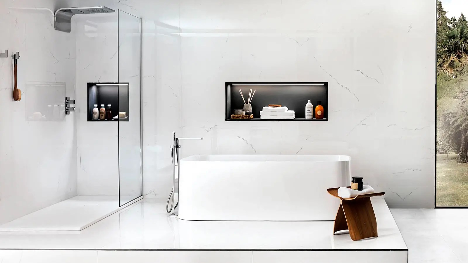 The 5 Best Shower Niche Real Ideas Porcelanosa Trendbook