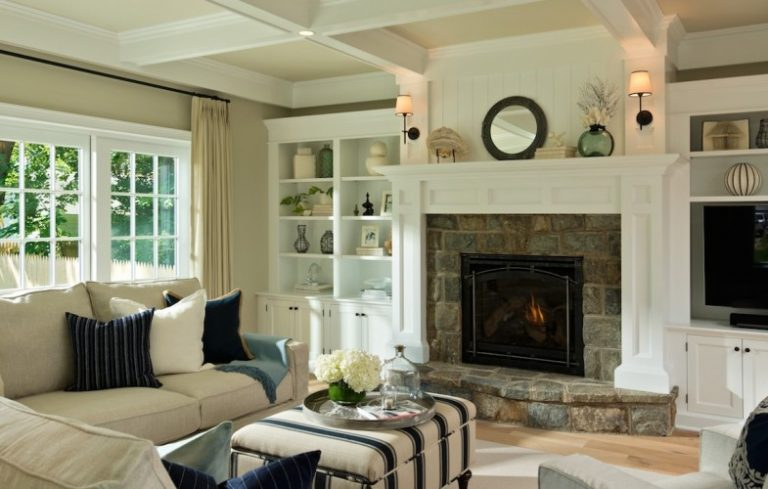 Creating a Transitional Style Living Room - Porch Advice - transitional style living room