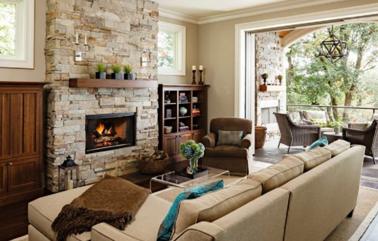 6 Ways To Warm Up The Living Room Without Turning Up The Heat - cozy living room colors