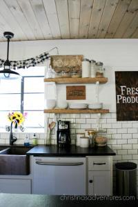 Farmhouse Fall Kitchen - Christinas Adventures