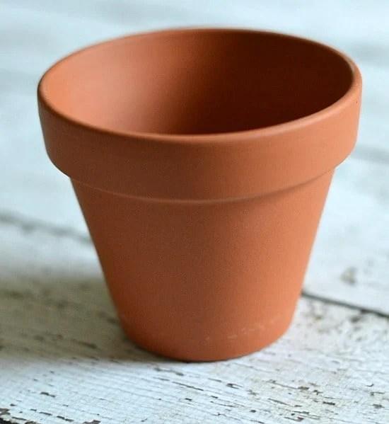 diy-crafts-gold-leaf-plant-pot-step-1