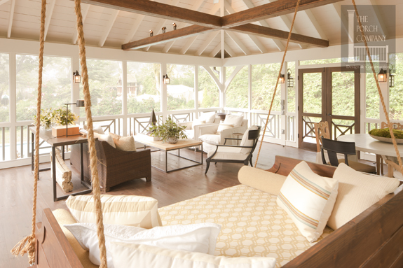 Daybed Holz Screen Porch Trends 2013 And Beyond - The Porch Company