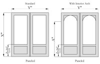 Flat Paneled Double Screen Doors - The Porch CompanyThe ...