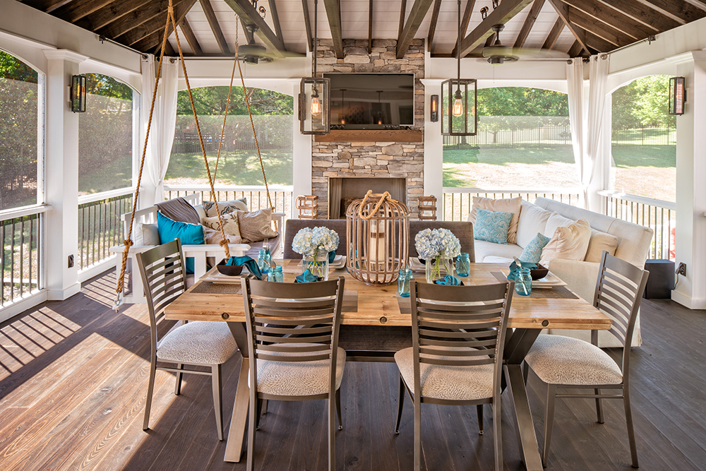Sometimes A Great Outdoor Living Space Isn39t The Best