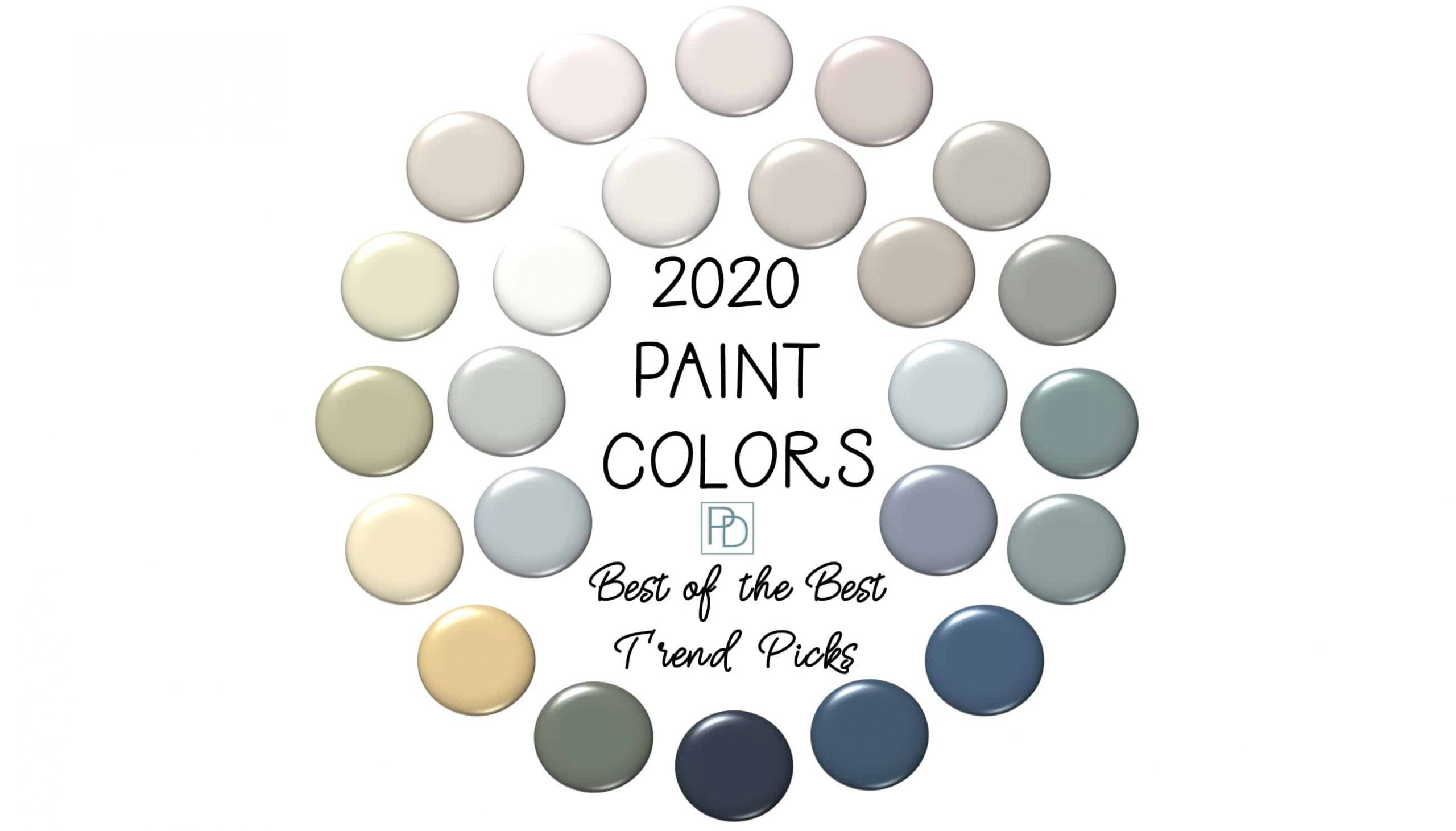 2020 Paint Color Trends 24 Best Of The Best Picks Porch Daydreamer