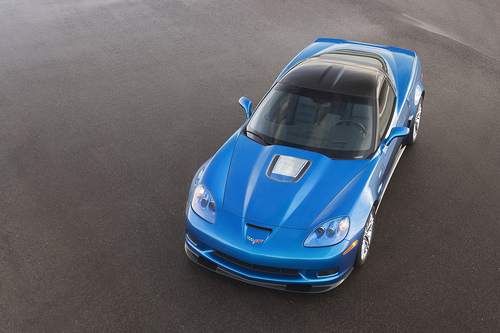Shown: 2009 Chevrolet Corvette ZR1