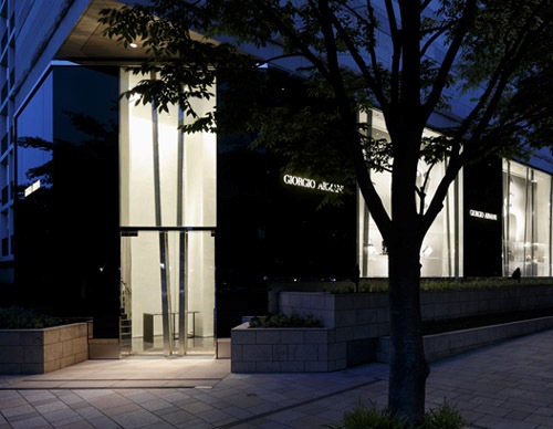 Armani's New Flagship Store in Roppongi Hills in Tokyo