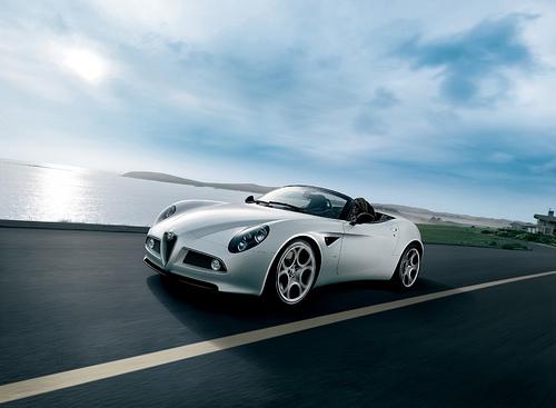 Alfa Romeo's $300K 8C Spider