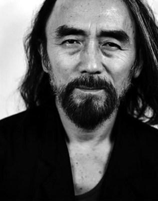 Smoking with Yohji Yamamoto