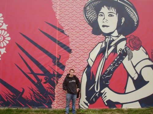 Shepard Fairey at Art Basel Miami 2009 [Video]