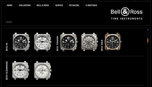 Bell & Ross Online Boutique