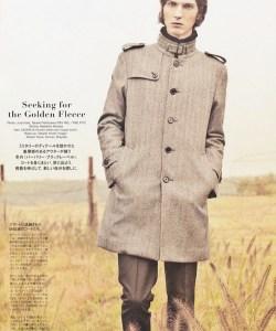 Popeye Magazine x Burberry Black Label