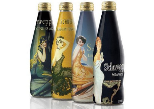 Schweppes Celebrates Style with Limited Edition Bottles [Design]