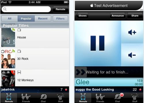 Teevox iPhone App Controls Hulu or Netflix Streaming on Your Computer