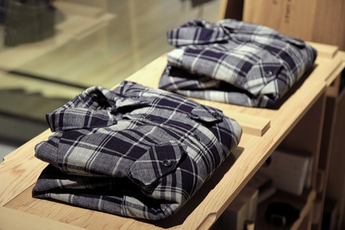 Isaora x Ace Hotel Quilted Shirt