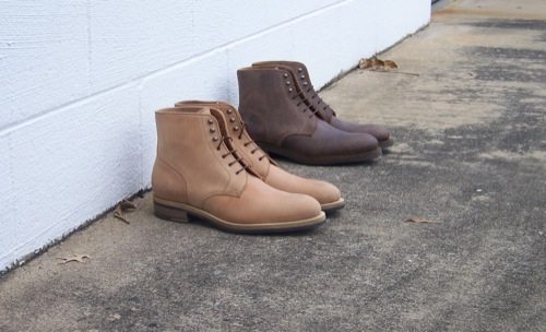 Rider Boot Co. | Plaintoe Boot in Reverso Calf