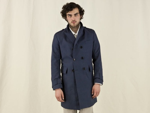 Spring Essential | Billy Reid Bouwerie Coat