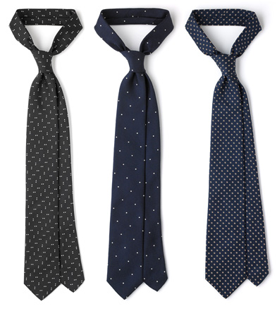 Drakes London Archival Wovens 7cm Neckties