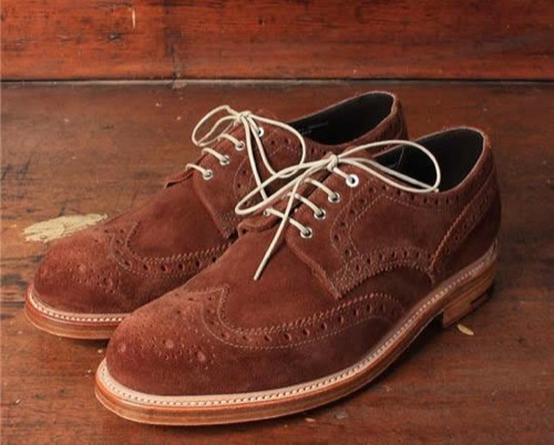 Grenson for Albam Summer Storm Brogue