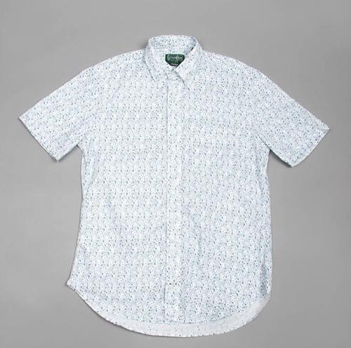 Gitman Bros. Floral Print Short Sleeve Shirt