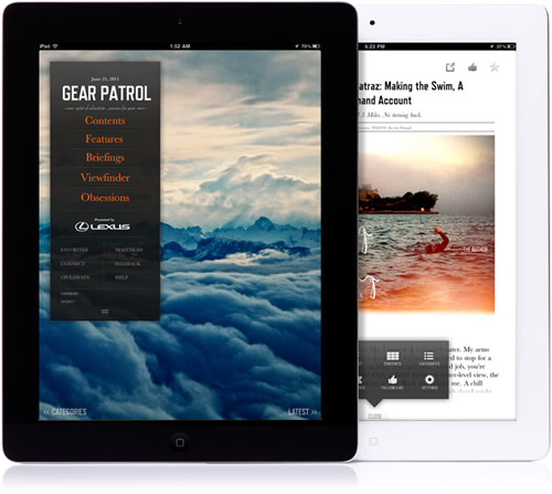 Introducing | Gear Patrol iPad App