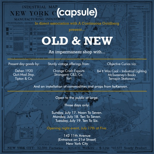 Old & New Shop for (capsule) by ACL and Randy Goldberg