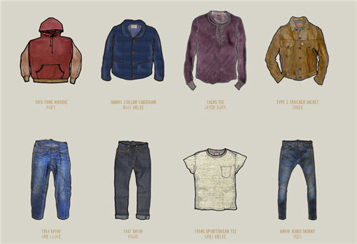 Introducing | Levi's Vintage Clothing Website