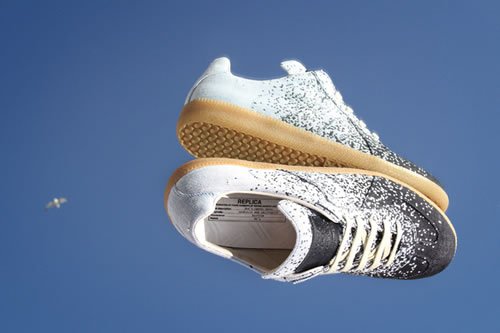 Maison Martin Margiela 22 Pixelated Low Top Sneakers Spring 2012