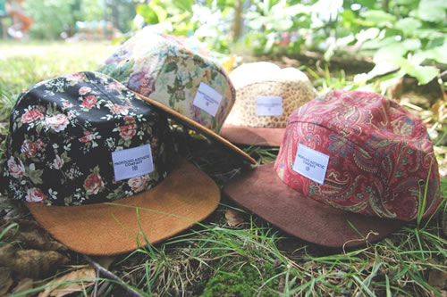 Profound Aesthetic 'Beauty in the Wild' 5-Panel Hats