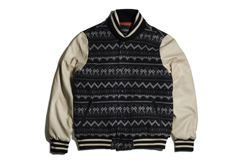 PROJECT LV | 11After11 Aztec Varsity Jacket