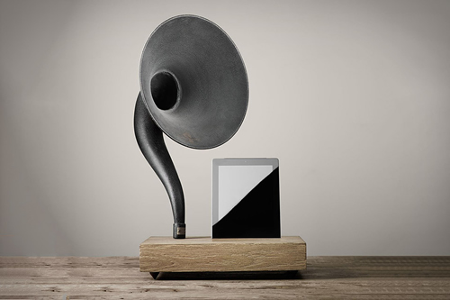 restoration-hardware-gramophone-iphone-and-ipad-speakers-1