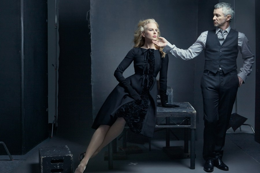 "Annie Leibovitz""  © by Annie Leibovitz (TASCHEN 2014) - Nicole Kidman and Baz Luhrmann, New York City, 2008"